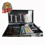 Kit complet piercing - implant dermal